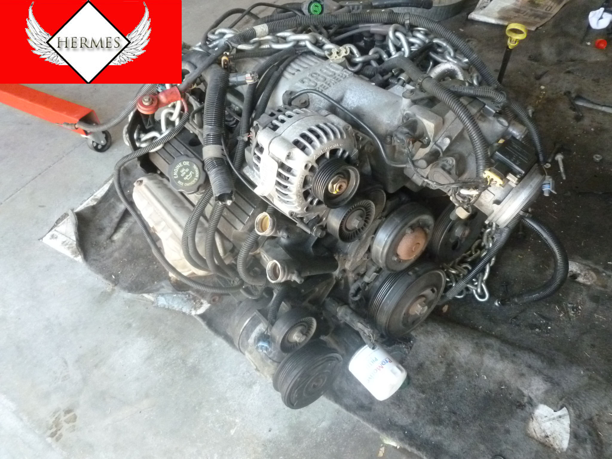 1995 Chevy Camaro 3 8L 3800 Series 2 V6 Engine Motor plete