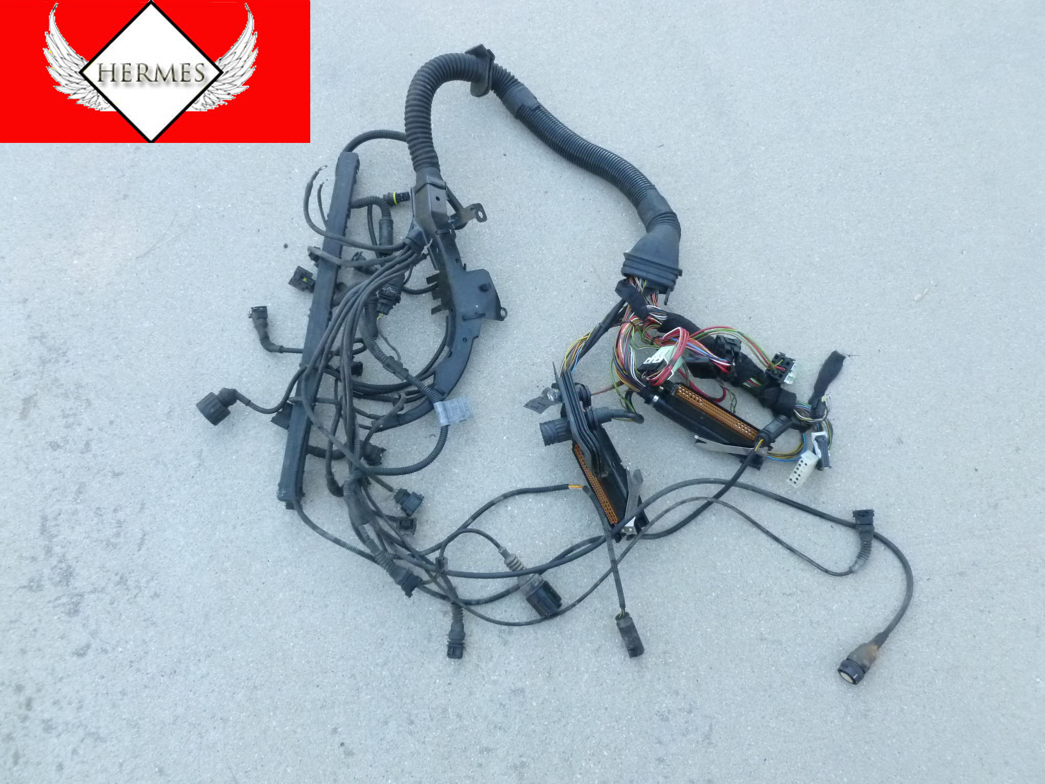 1997 Bmw 528i E39 Engine Transmission Wiring Harness 12511433361 Main