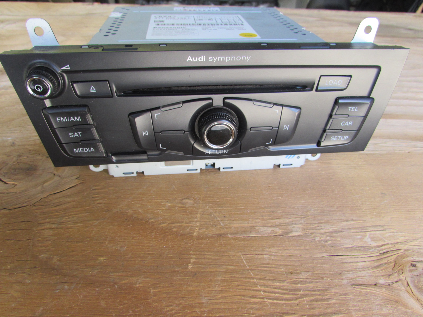 audi oem 09 a4 b8 6 disc cd player radio stereo head unit. Black Bedroom Furniture Sets. Home Design Ideas