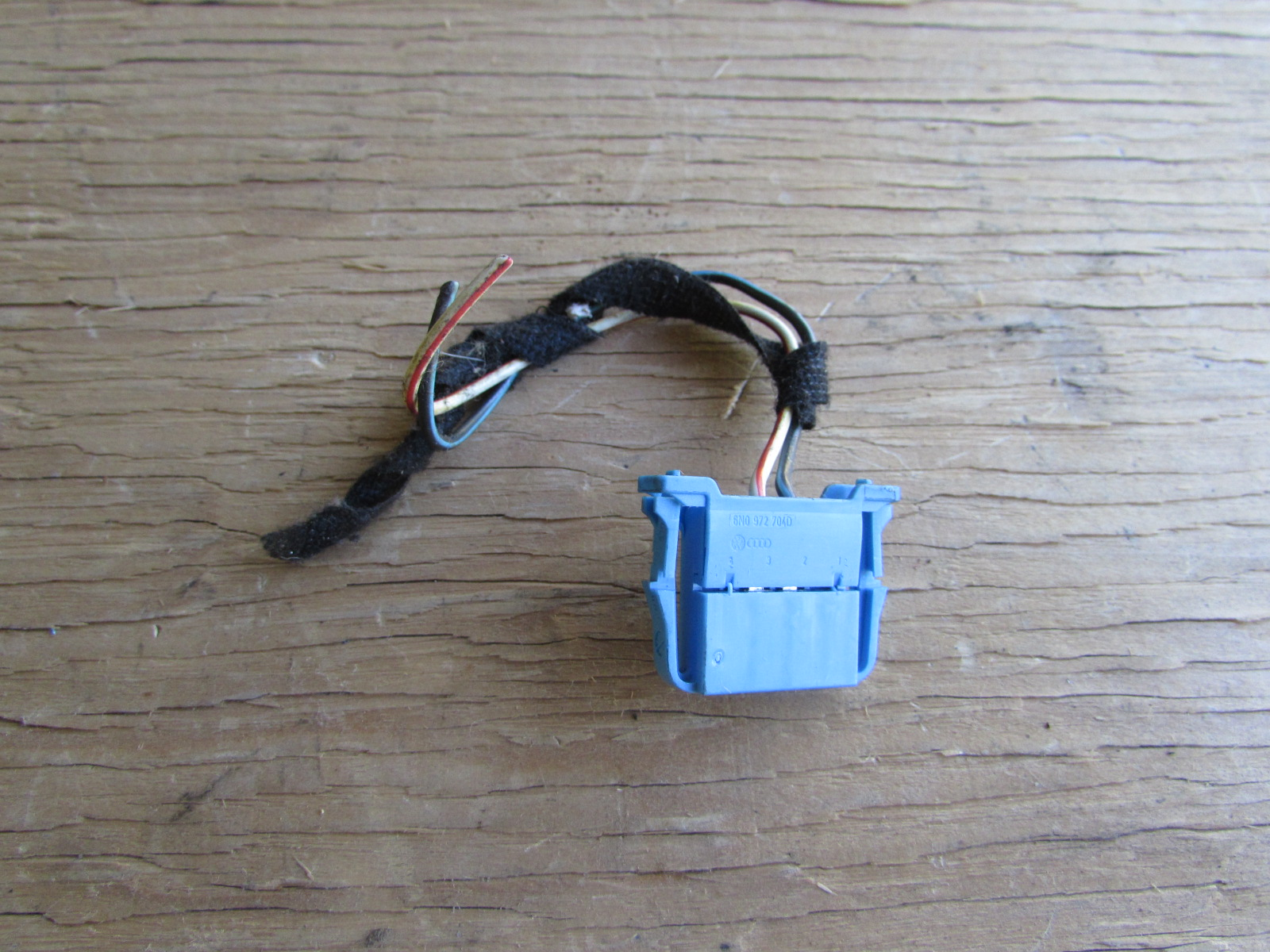 Audi TT MK1 8N Brake and Clutch Pedal Switch Connector Plug Pigtail ...