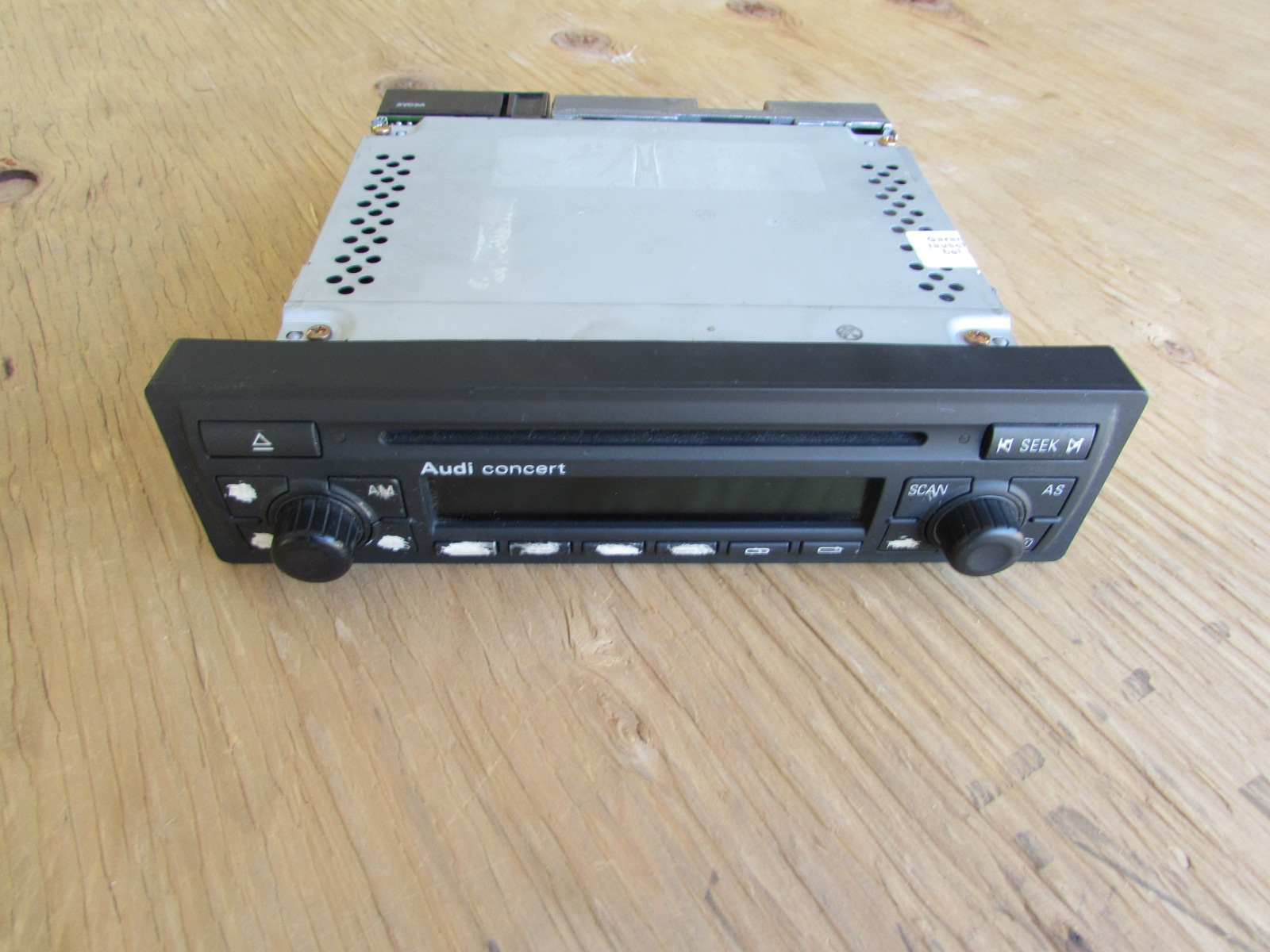 Audi Tt Mk1 8n Concert 2 Cd Player Radio Stereo Head Unit