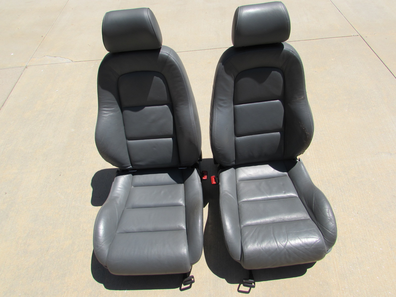 Audi TT MK1 8N Sports Front Seats w/ Napa Fine Leather and Suede ...
