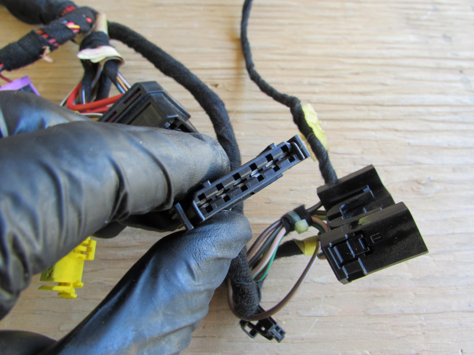 audi tt mk1 8n steering column wiring harness 8l09719785