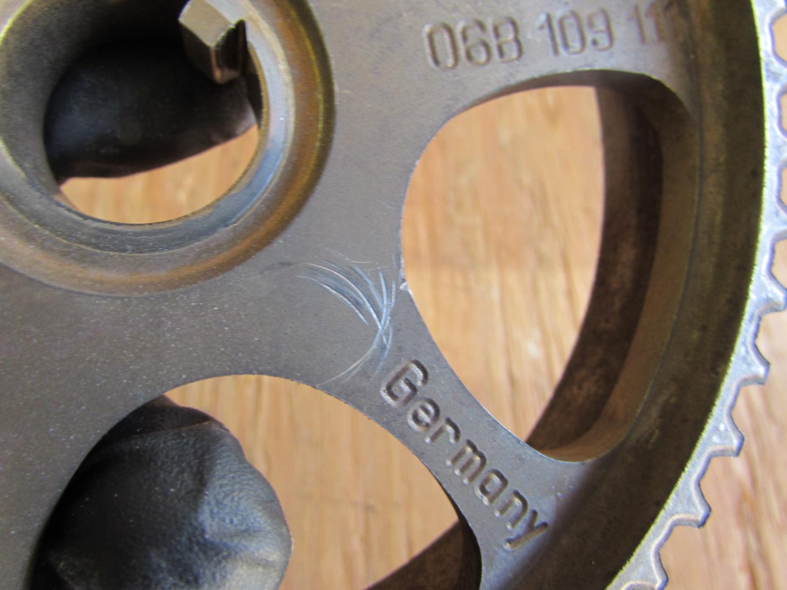 Audi Tt Mk1 8n Timing Belt Camshaft Gear Toothed Pulley Gears 06b1091115