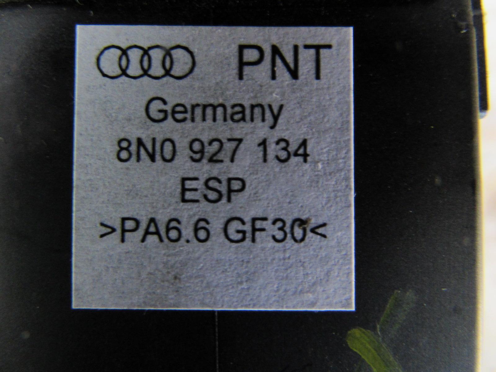 Audi TT Mk1 8N ESP Dash Switch Button 8N0927134