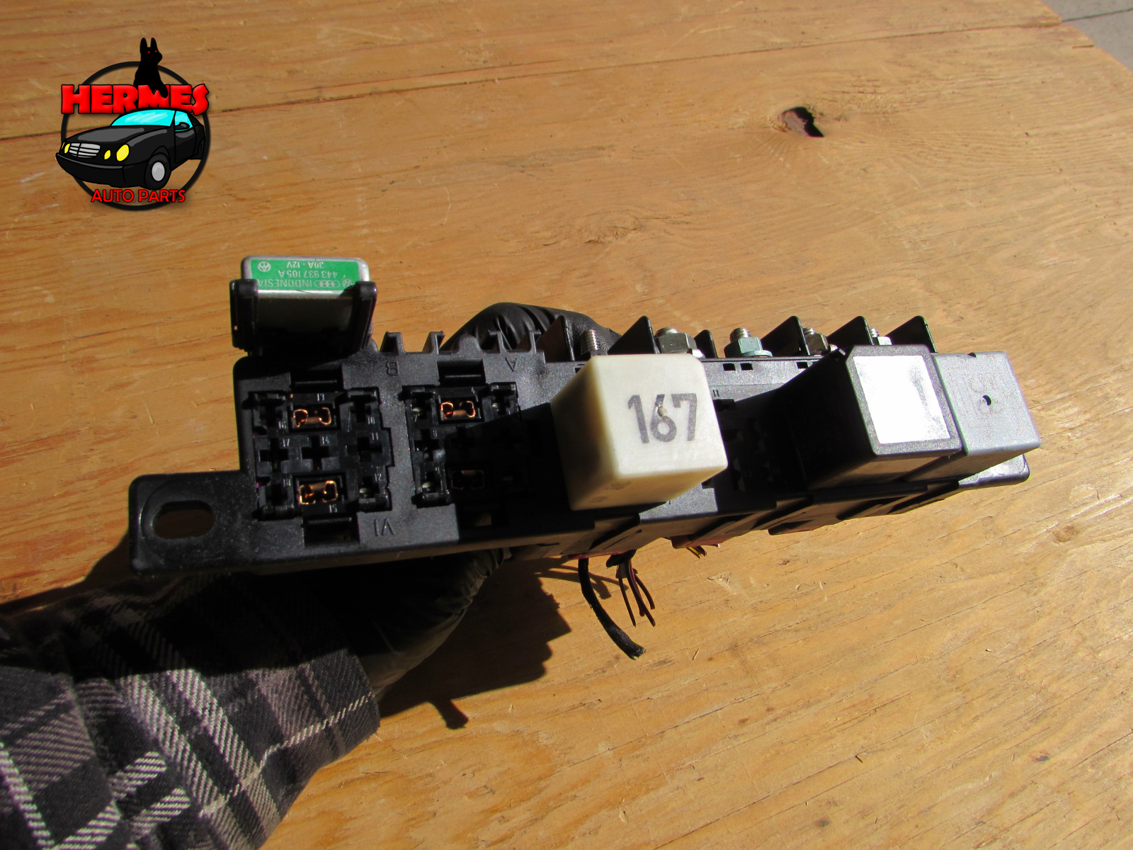 Audi Tt Mk1 8n Relay Fuse Holder Box Under Dash 8l0941822 Hermes 2001