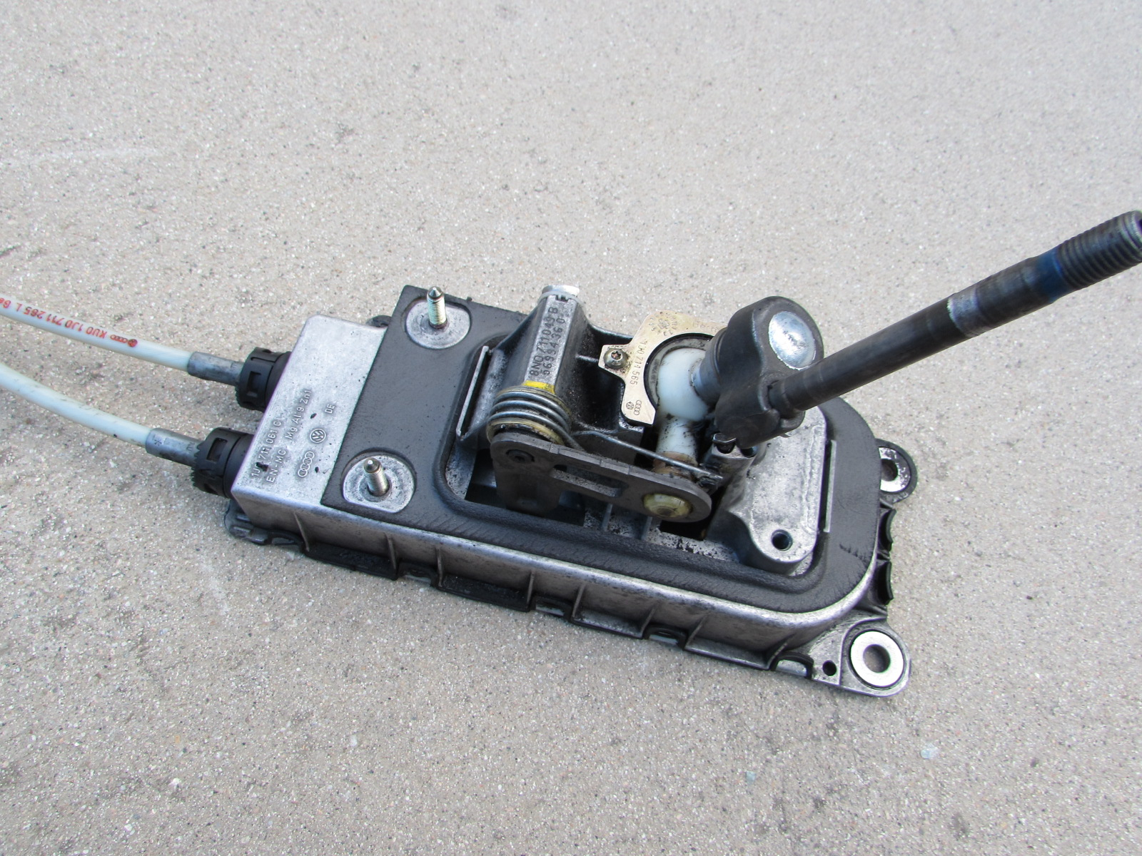 audi tt manual transmission parts