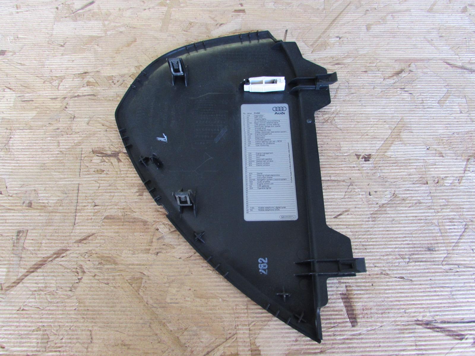 Fuse Box On A Audi Tt : Audi tt mk j oem dash fuse box cover end cap left