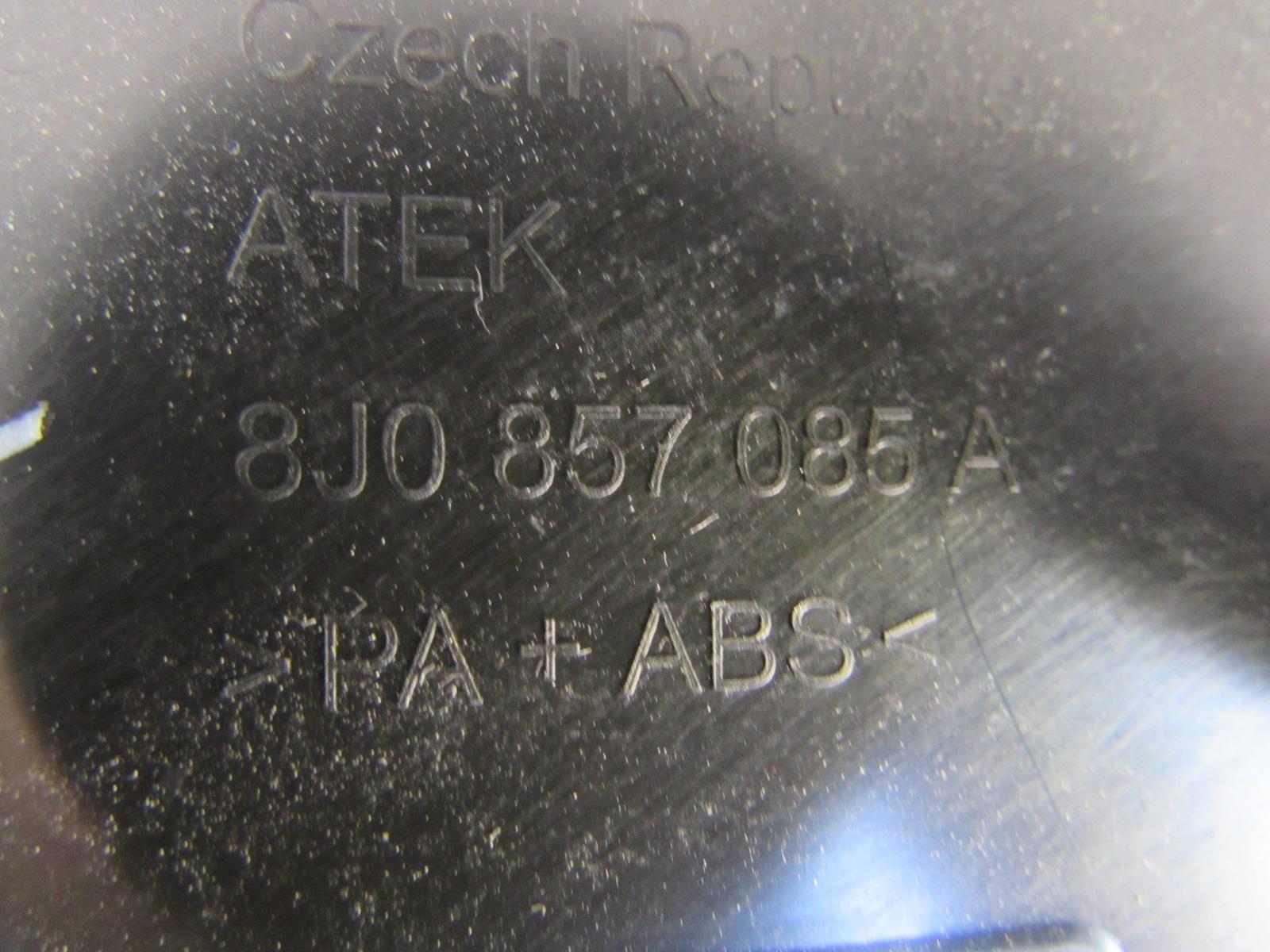 Audi Tt Mk2 8j Oem Dash Fuse Box Cover End Cap Left 8j0857085a 2008 Under Hood