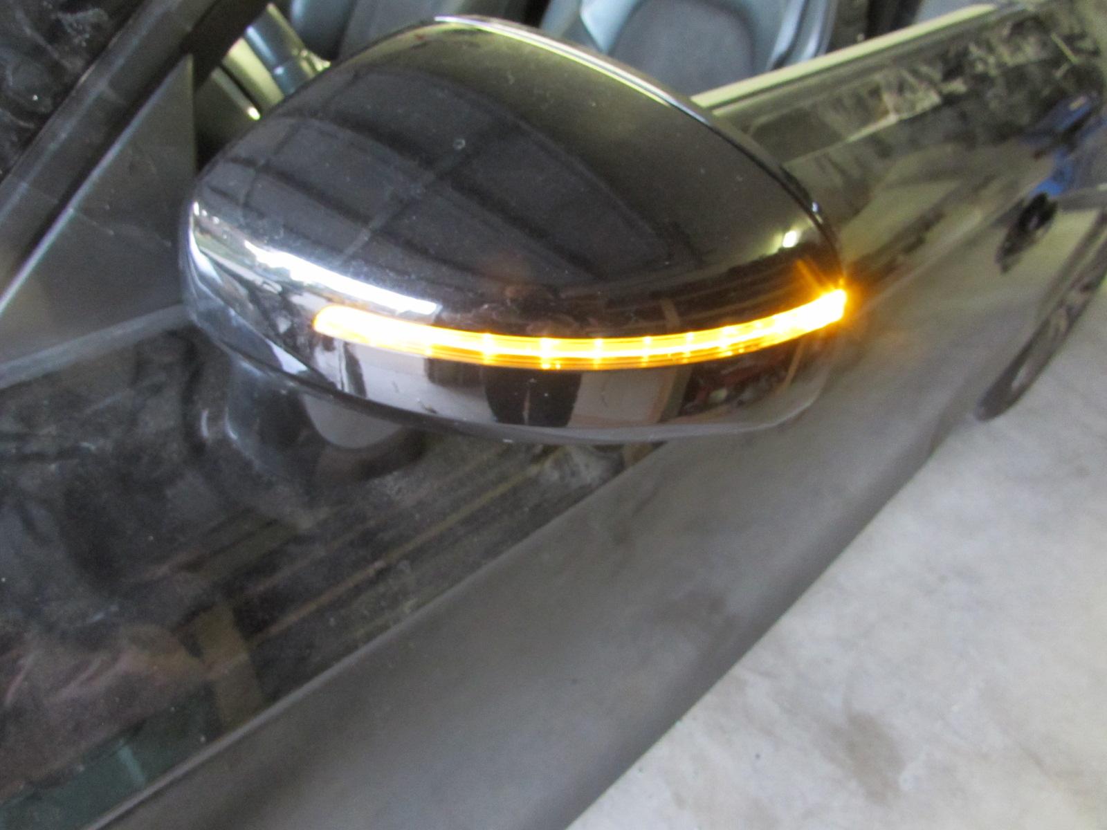 Audi TT Mk2 8J OEM Door Mirror, Left (6 Wire Connector) 2008 2009 2010 2011  2012 2013 2014 2015
