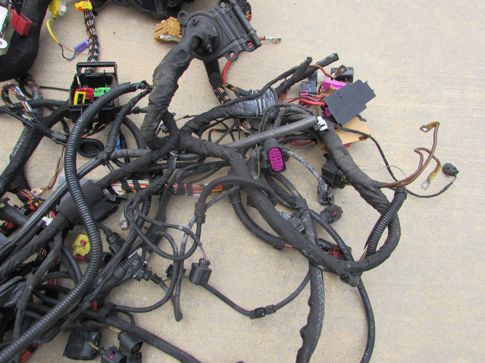 Audi Tt Mk2 8j Oem Entire Vehicle Body Wiring Harness Main 2010 For 20103