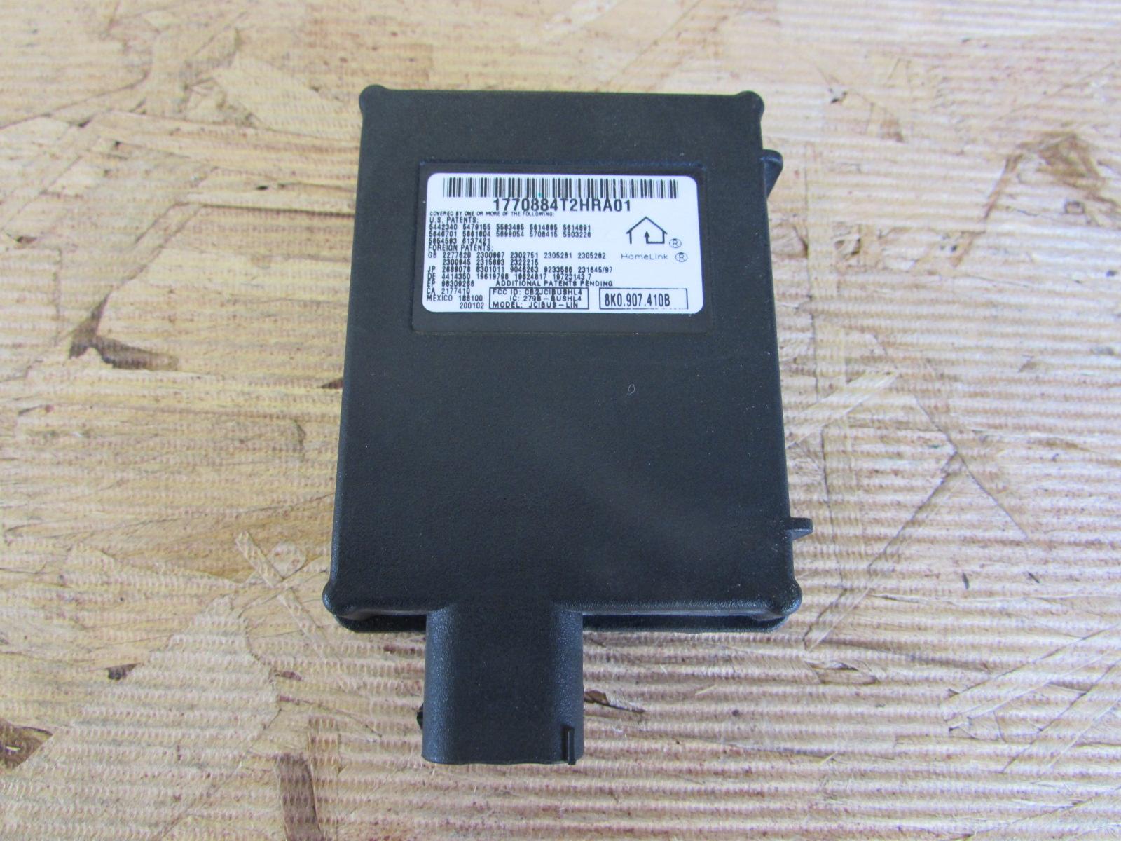 Audi tt mk2 8j oem homelink garage door opener control module unit audi tt mk2 8j oem homelink garage door opener control module unit 8k0907410b3 rubansaba