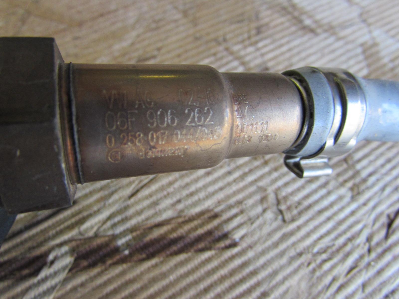 Audi Tt Mk2 8j Oem Oxygen O2 Sensor 5 Wire 06f906262ac Vw Jetta 2006 Passat Ac Wiring Gti Eos