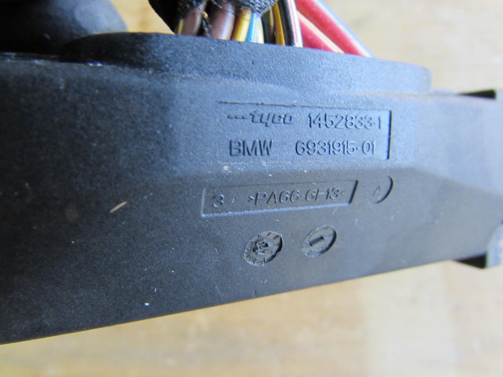 BMW ABS Control Module Hydro Unit Anti Lock Brake Pump DSC Connector  61136931915 E90 323i 325i 328i 330i 335i
