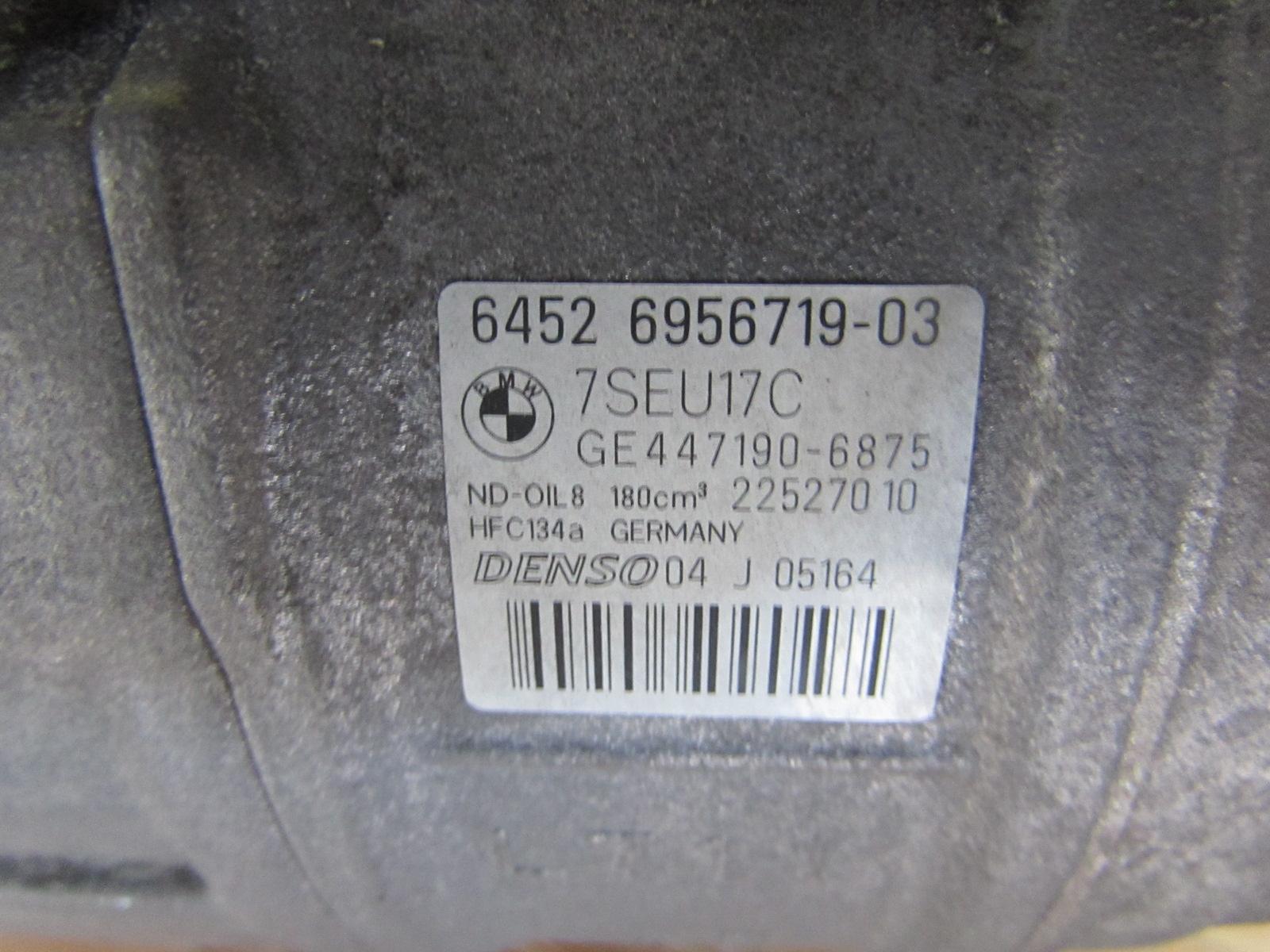 Bmw Ac Air Conditioner Compressor Denso 64526956719 E90 E92 E93 335i Kompresor Seri 3 E46 335xi 335is E82 135i E89