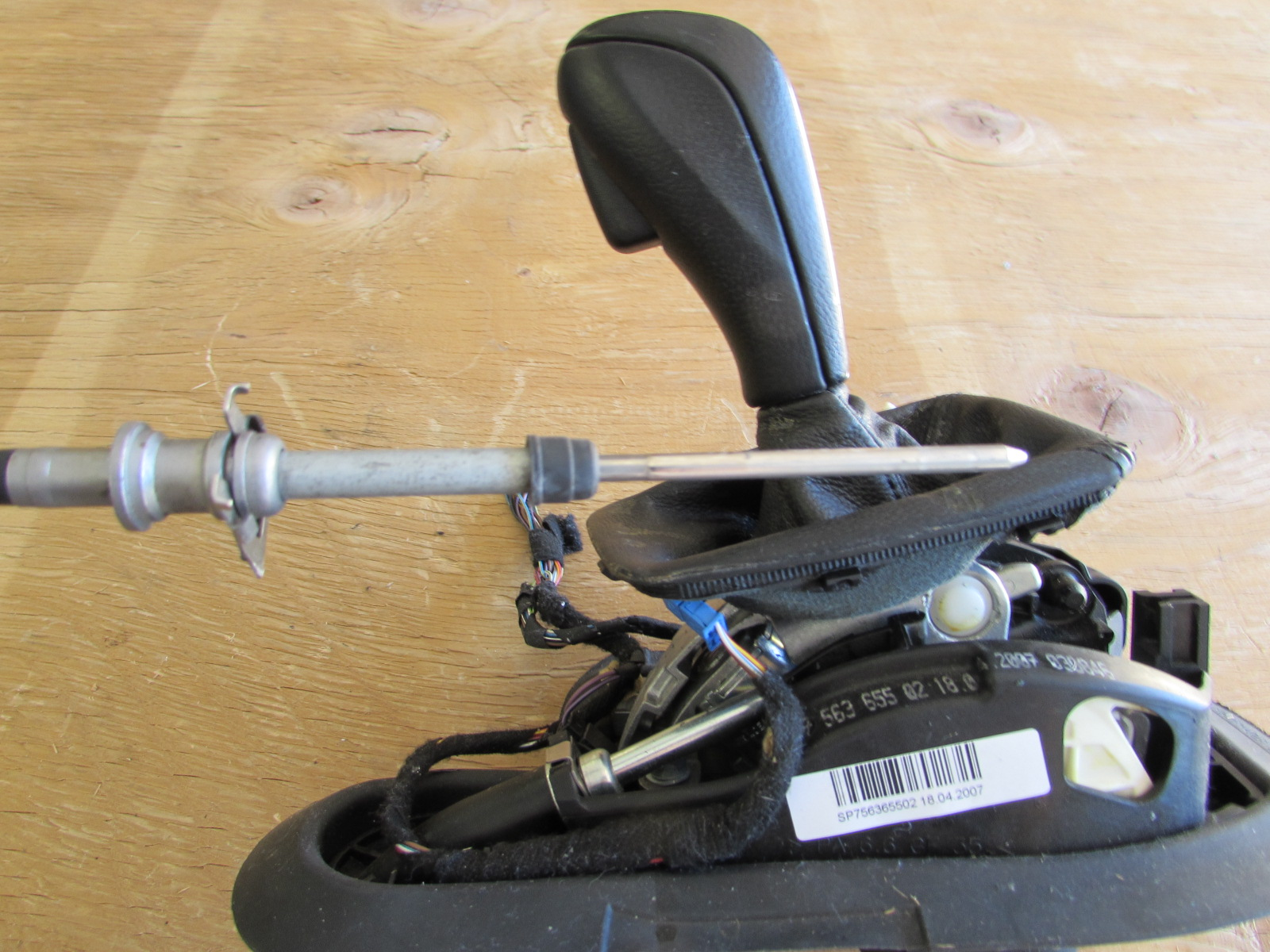 BMW 3 Series E90 E91 Shift Lever Assembly Gearshift Steptronic 7562484