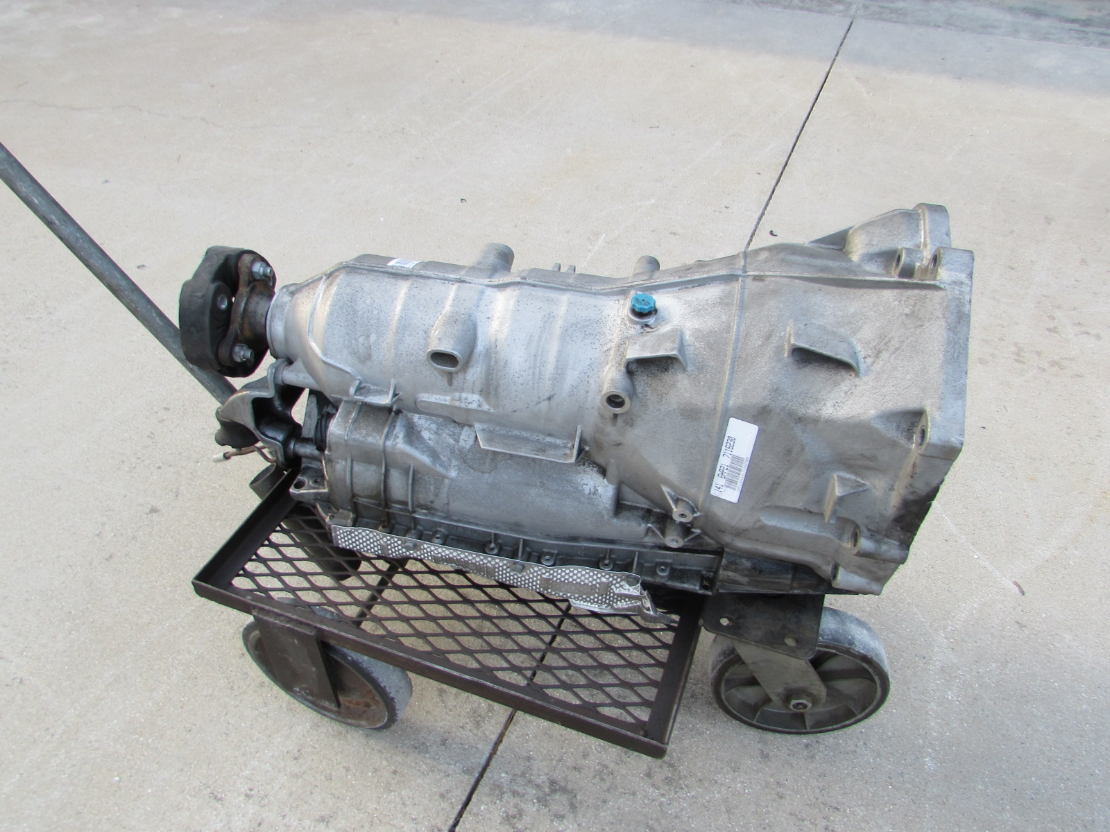 Bmw Automatic Transmission W Torque Converter Ga6hp19z 24007572071 Ford 8n Specs E90 E92 E93 335i E82 135i3