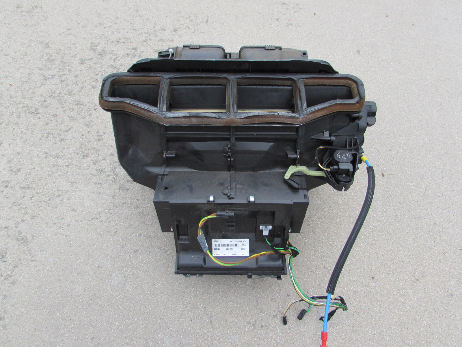 Bmw Behr Ac Heater Climate Box Complete 64116902870 E46