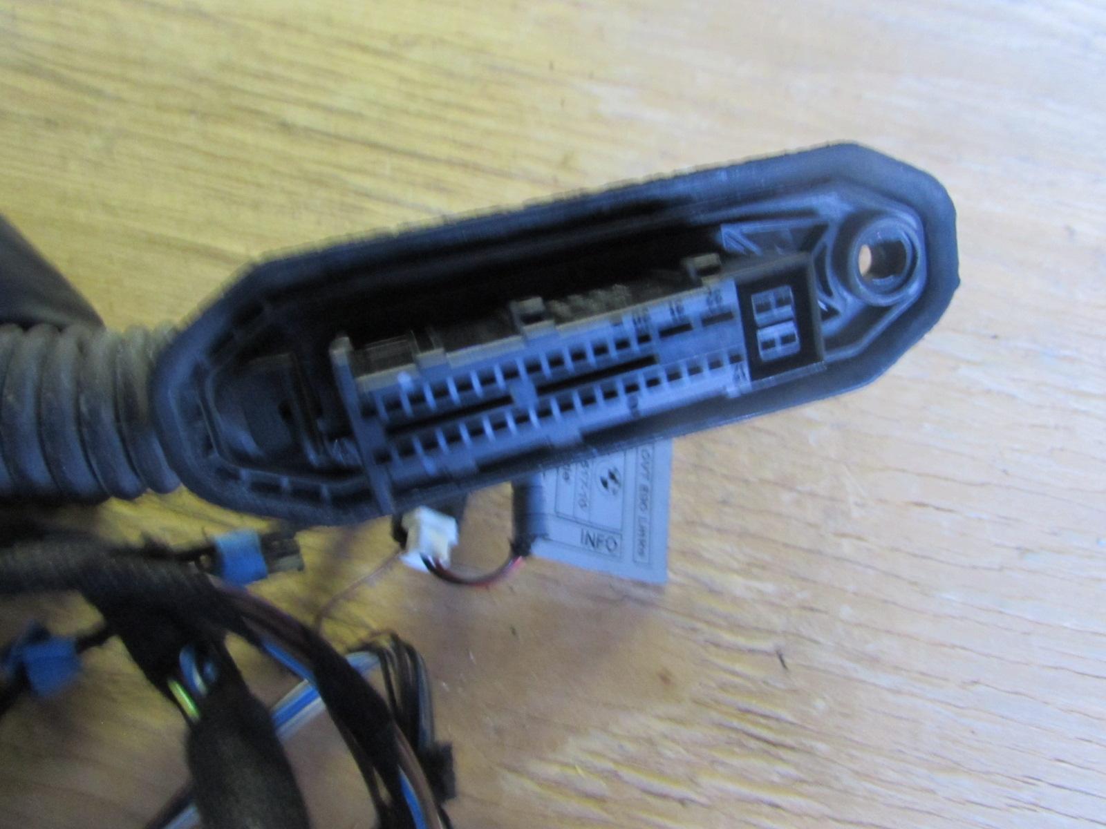 Bmw door wiring harness front left e
