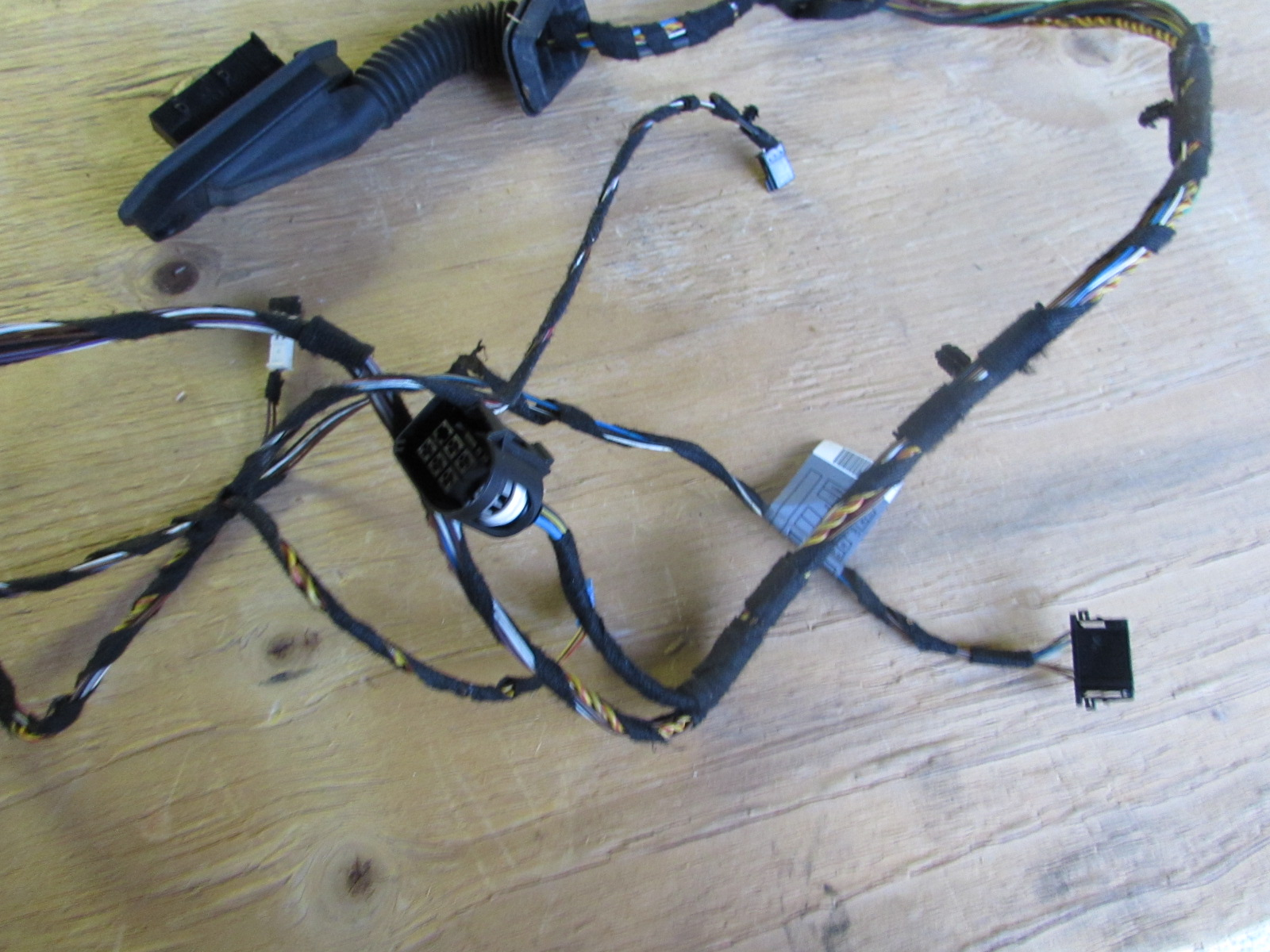 Bmw Door Wiring Harness Rear Left 61126938226 E90 E91 323i 325i 328i 330i 335i M3