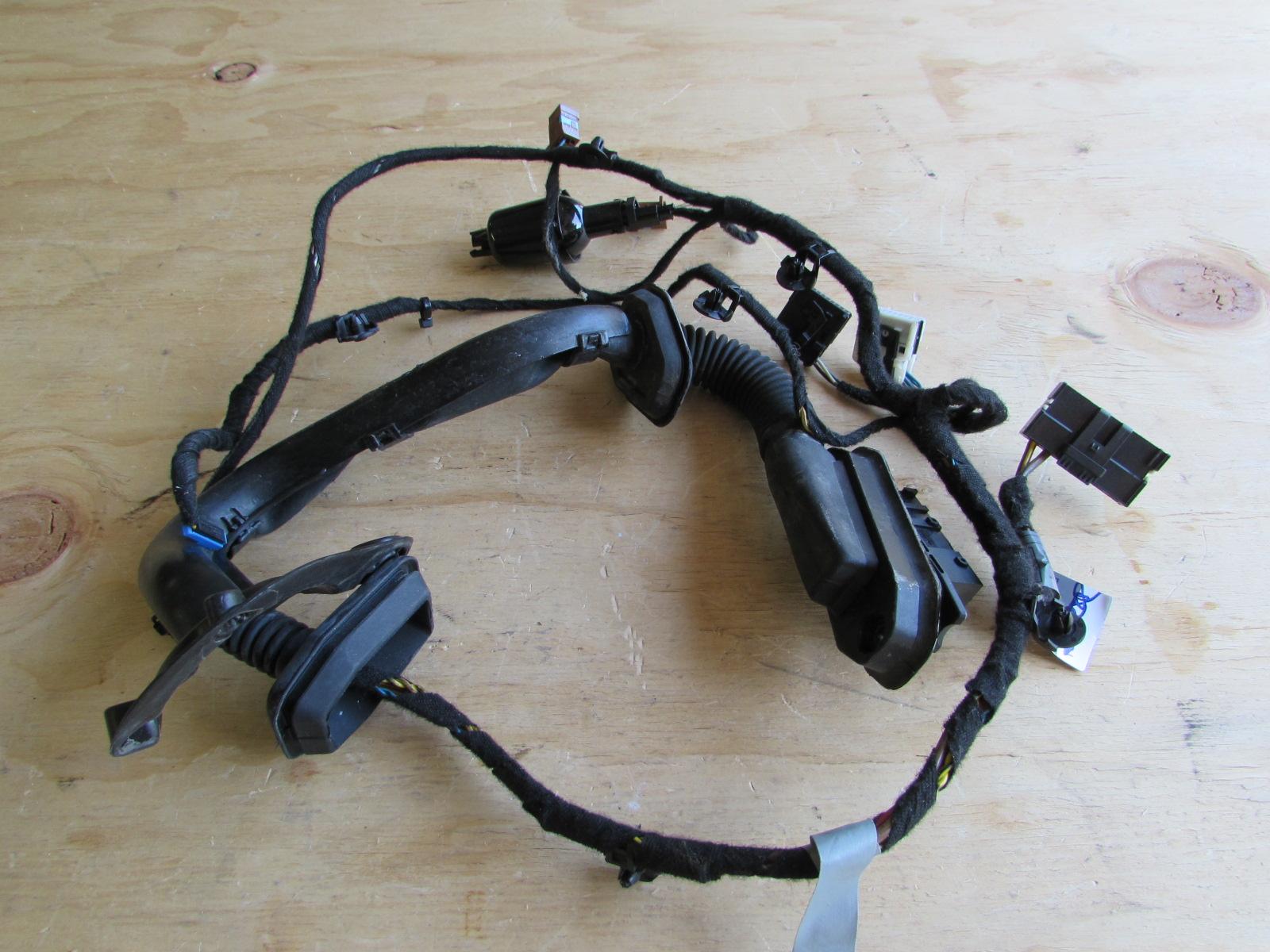 Bmw Door Wiring Harness  Rear Left 6918765 E65 E66 745i 745li 760i 760li