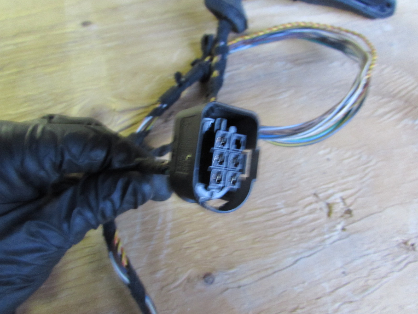 Bmw door wiring harness rear right e