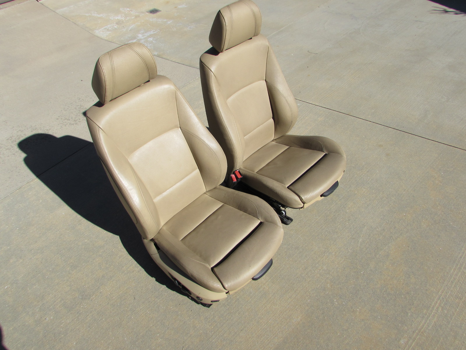 bmw front sport seats electric w memory pair. Black Bedroom Furniture Sets. Home Design Ideas