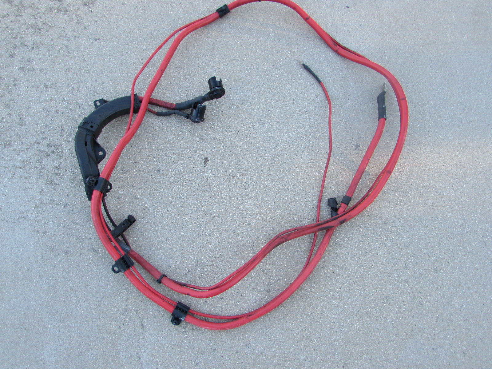 BMW Positive Battery Lead Cable Wire 61129125036 E90 323i 325i 328i ...