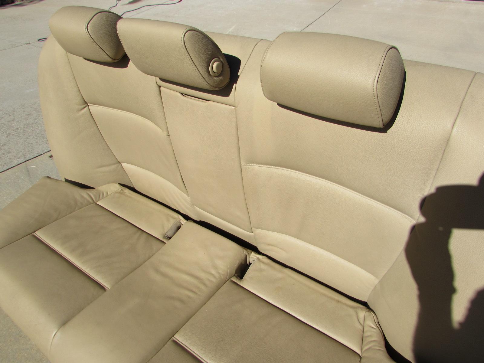 bmw rear seats 52207118745 e90 323i 325i 328i 330i 335i m3. Black Bedroom Furniture Sets. Home Design Ideas