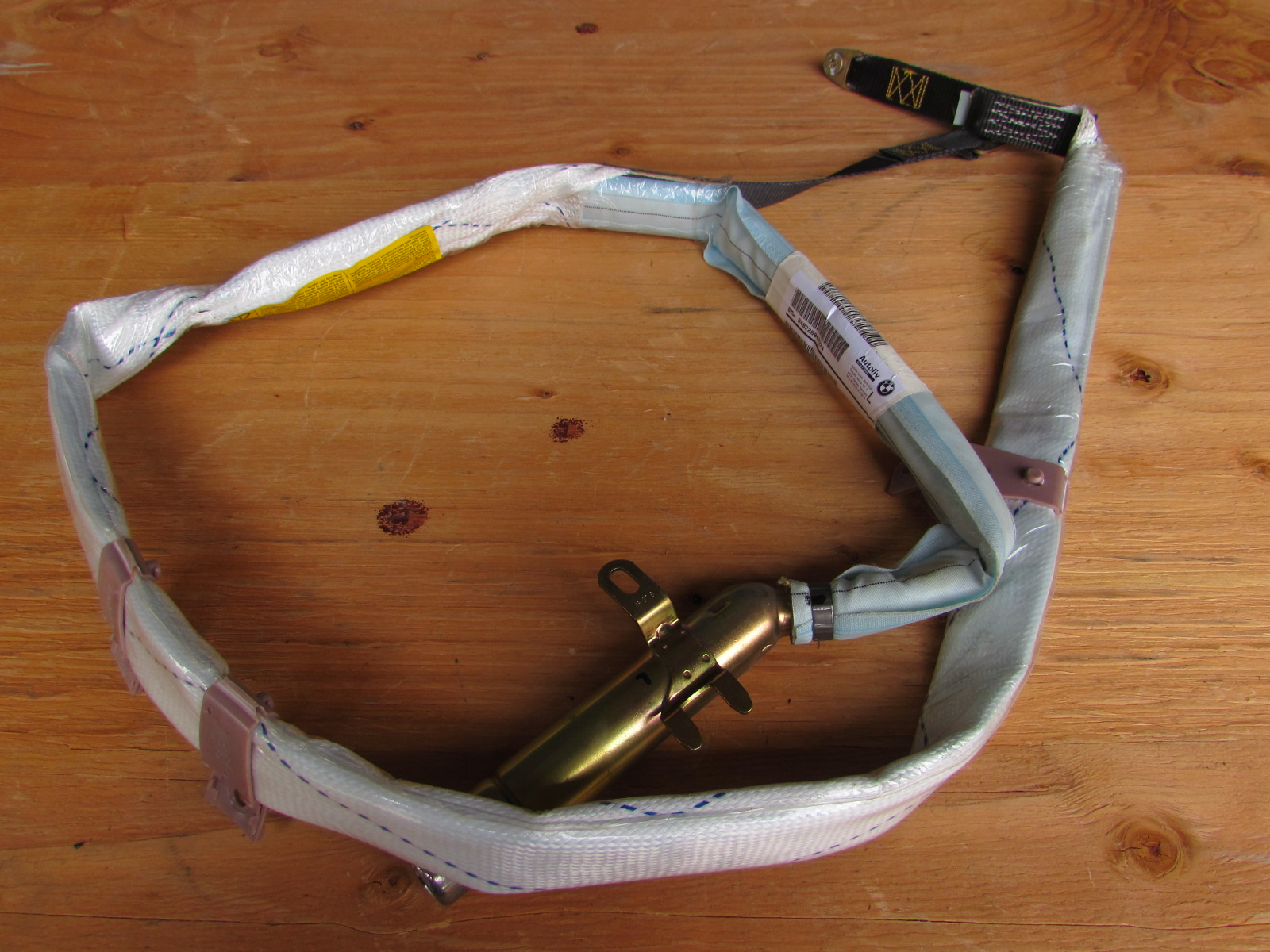 BMW 3 SERIES E46 SALOON TOURING LEFT ITS HEAD CURTAIN AIRBAG 72128268165