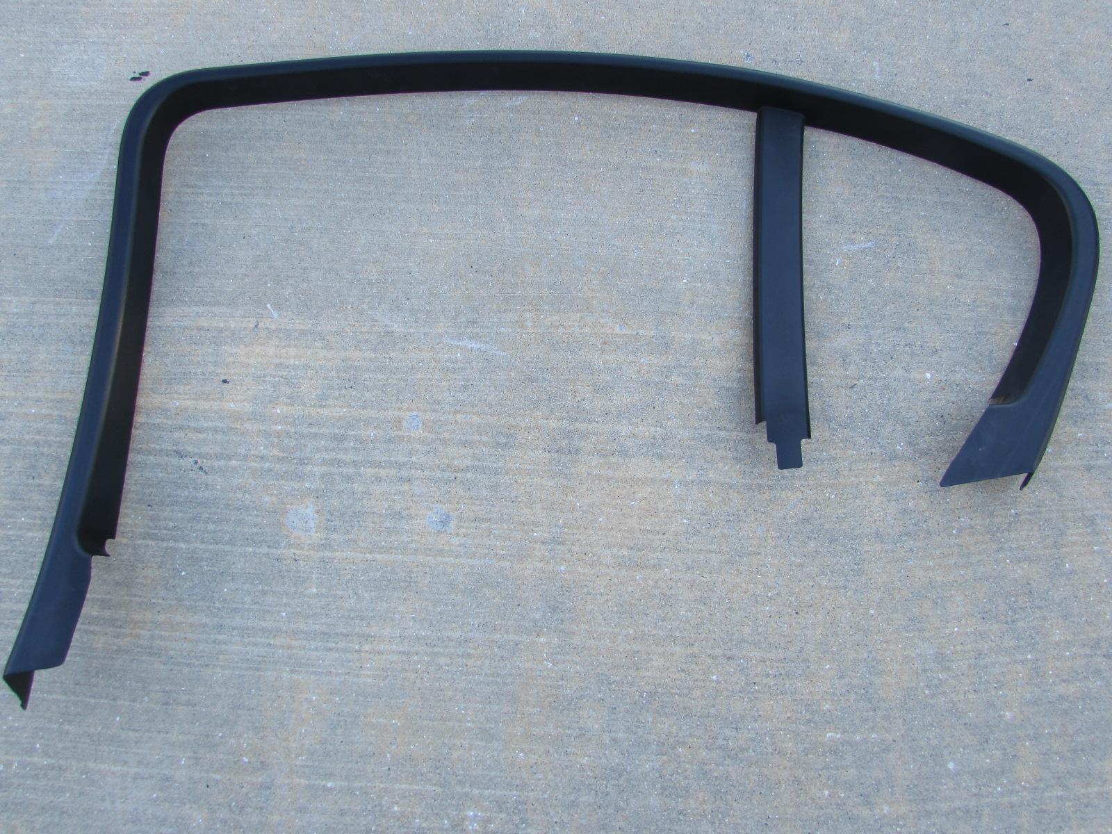 window framing trim exterior bmw upper door window frame interior trim rear right 51347120802 e90 323i 325i 328i 330i 335i m3 sedan only