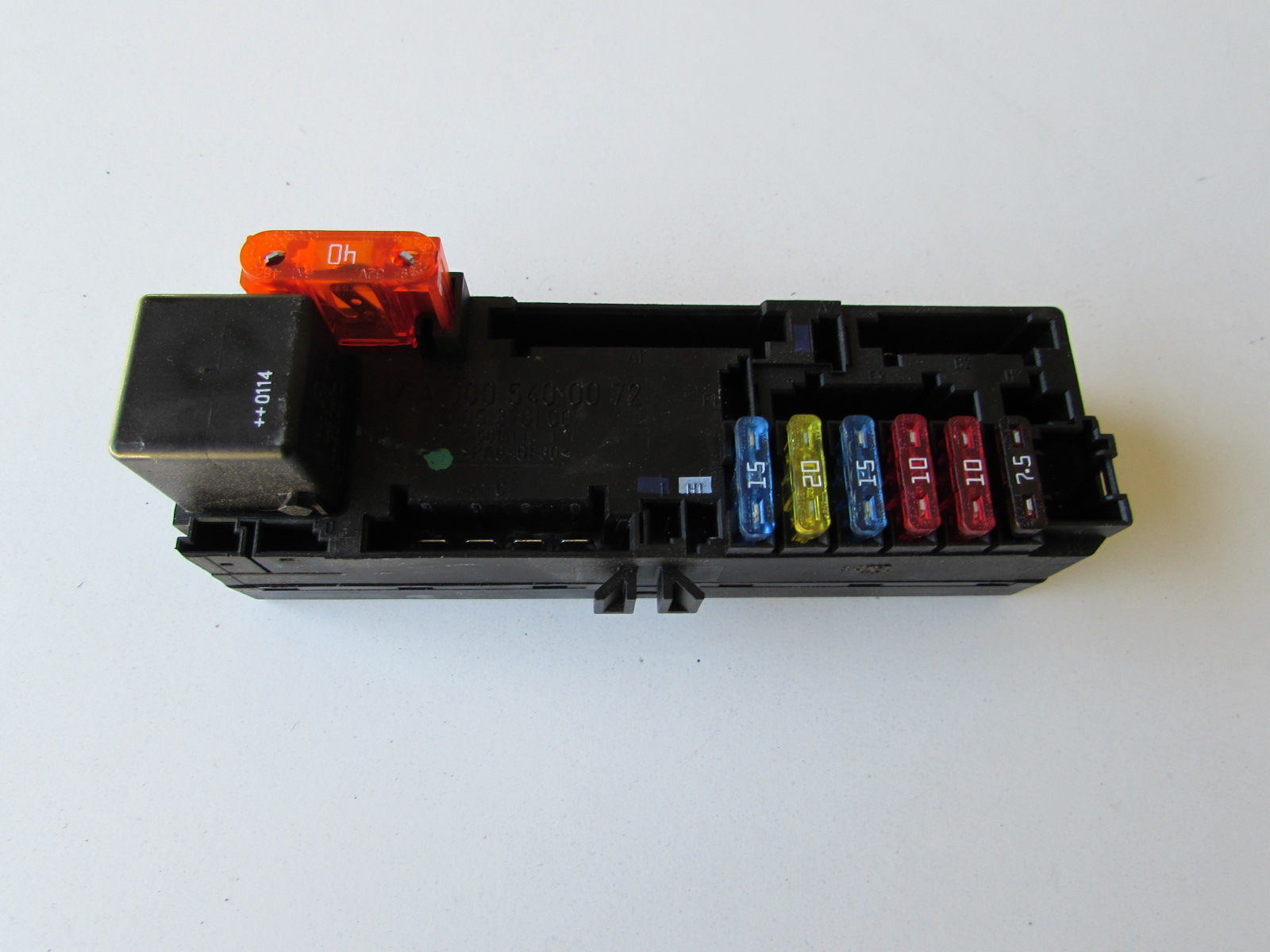Mercedes Fuse Box 1997 Benz Real Wiring Diagram 2003 S500 Relay Unit A0005400072 W202 W208 W210 C 2001 500sl 2000