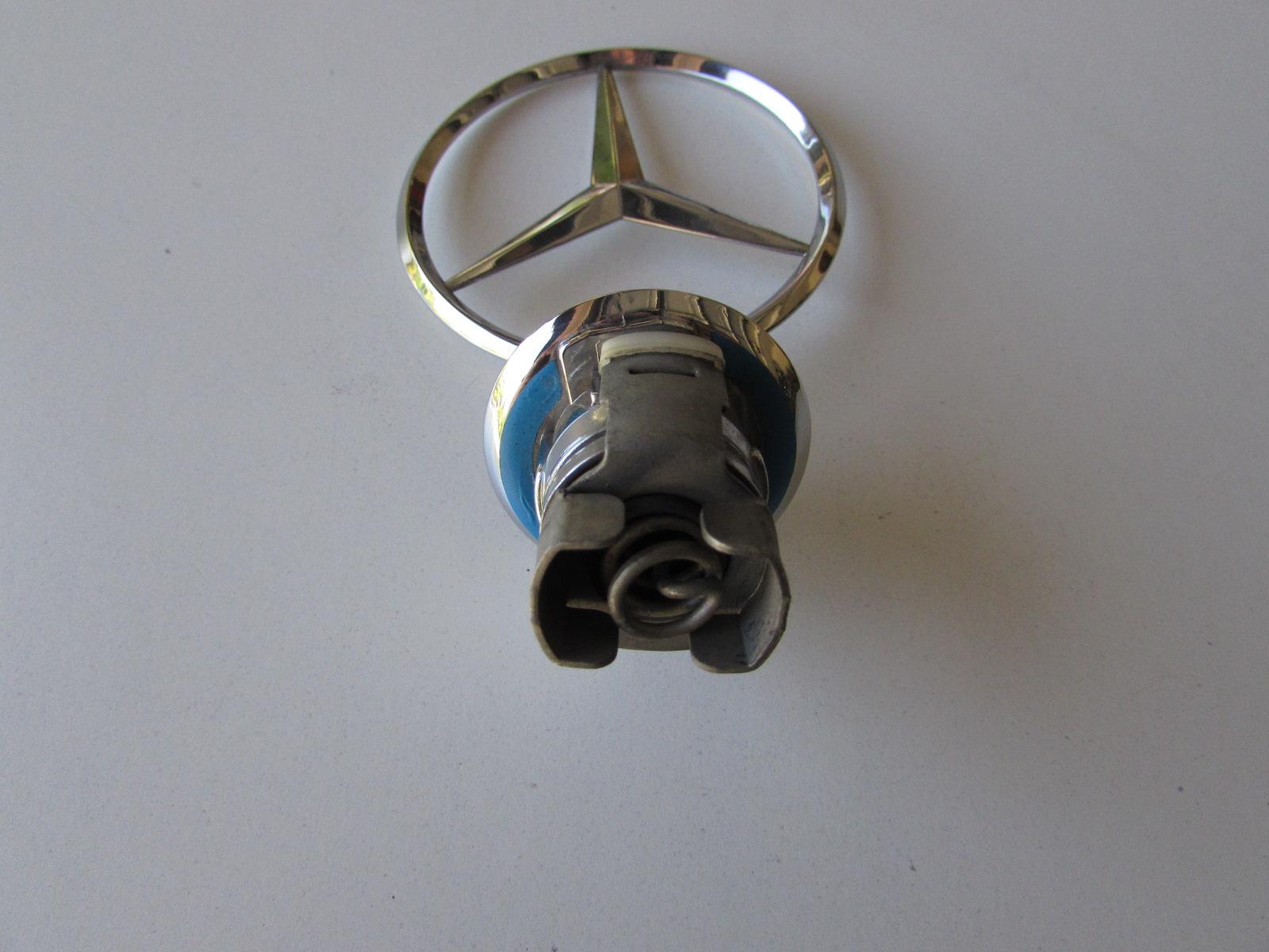 Mercedes hood ornament emblem 2108800186 hermes auto parts for Mercedes benz hood ornament