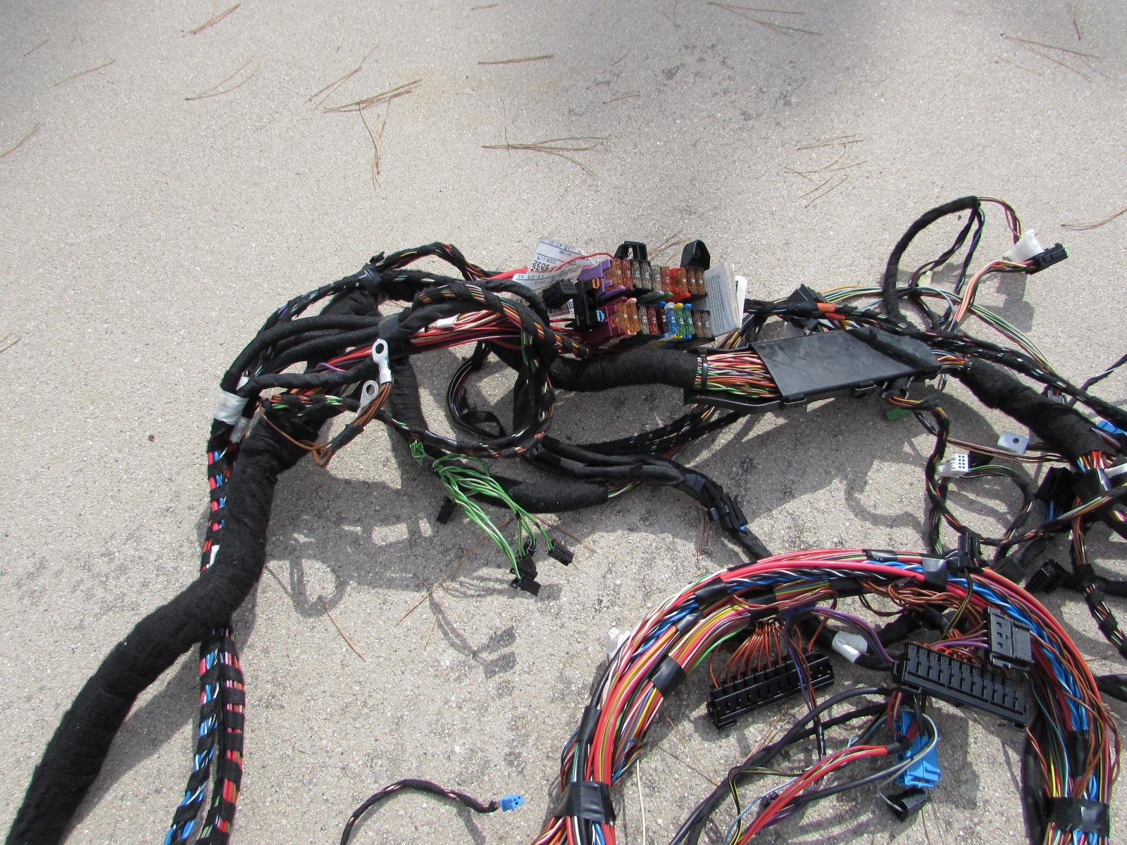 mercedes r171 body wiring harness, rear section, firewall ... cj2a wire harness routing om642 mercedes wire harness routing