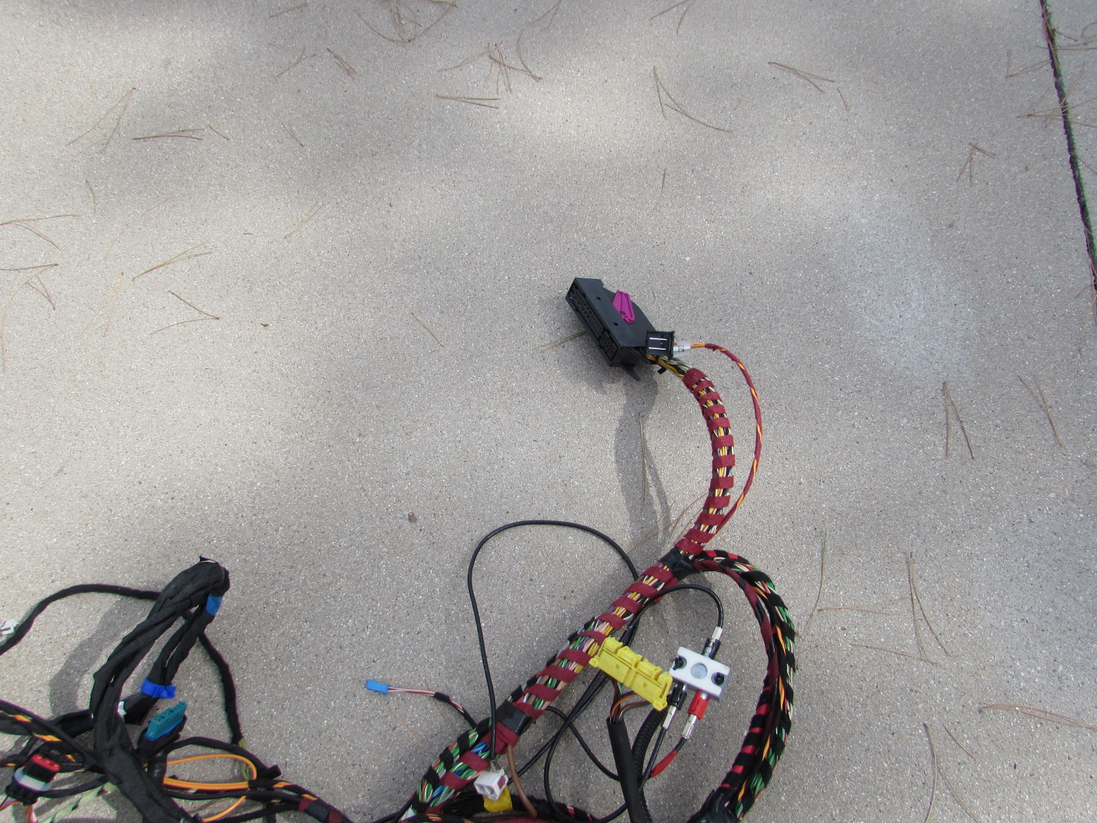 mercedes r171 body wiring harness, rear section, firewall ... 67 camaro wire harness routing
