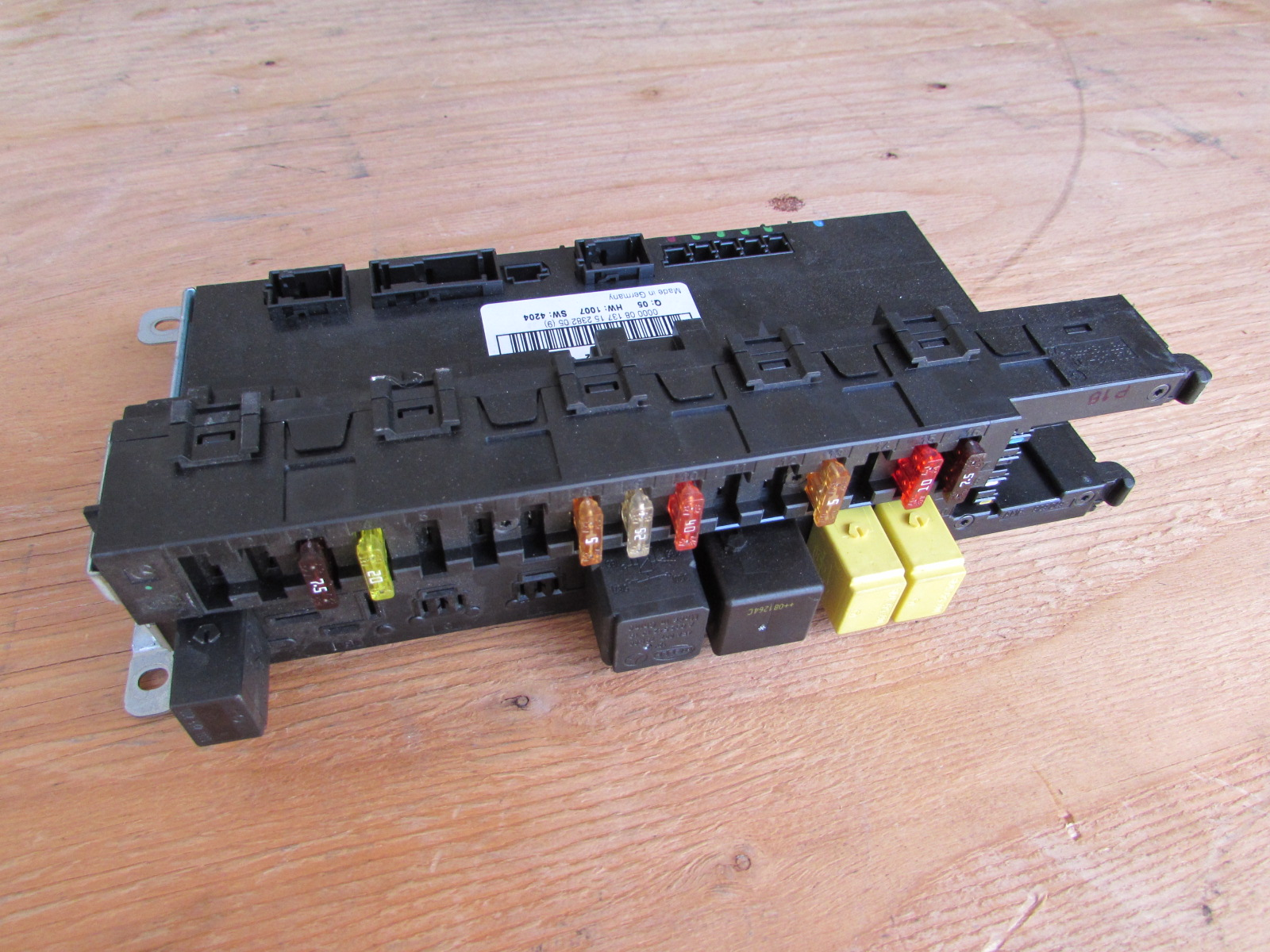 Mercedes R171 Electrical Center Fuse Block Box 1715451301 ...