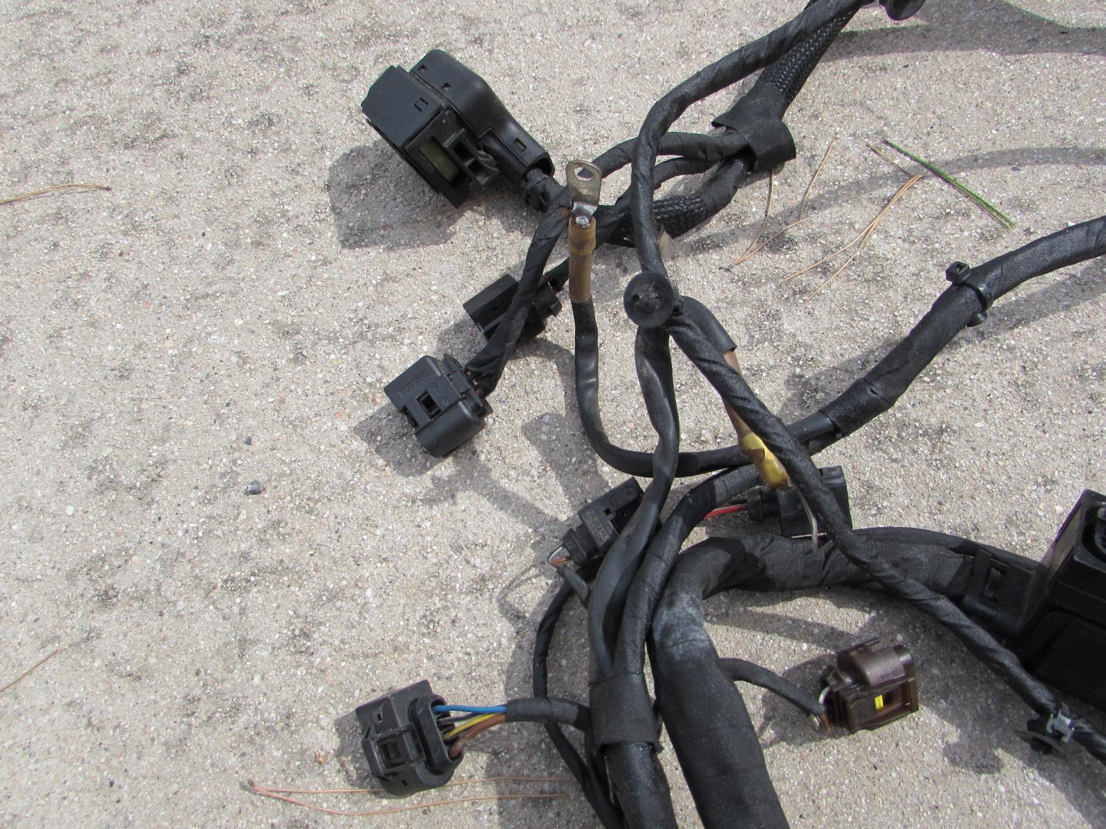 Mercedes R171 Engine Compartment Body Wiring Harness Firewall Connectors Forward Slk280 Slk300 Slk350 Slk553