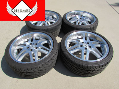 19 Inch Rims and Tires (Set of 4)-main