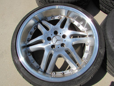 19 Inch Rims and Tires (Set of 4)5