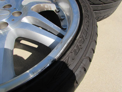 19 Inch Rims and Tires (Set of 4)9