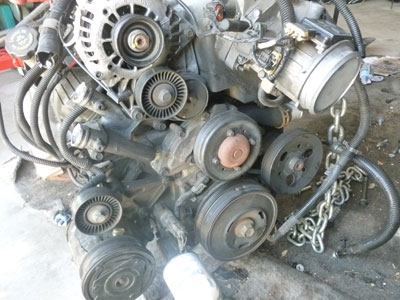 Chevy Camaro L Series V Engine Motor Complete For Sale