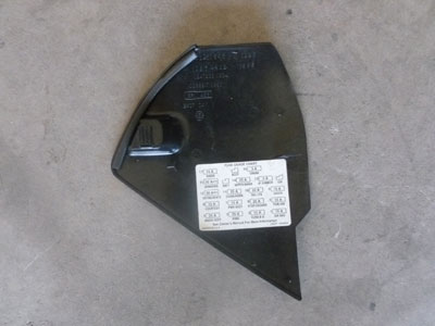 1995 chevy camaro dash fuse box door hermes auto parts 1995 chevy camaro dash fuse box door2