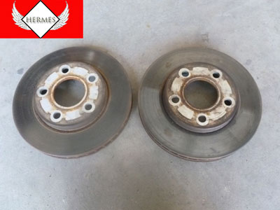 1995 Chevy Camaro - Front Disc Brakes Rotors Vented (Pair)1
