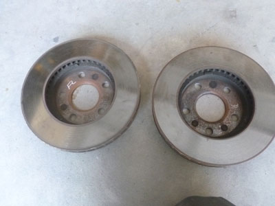 1995 Chevy Camaro - Front Disc Brakes Rotors Vented (Pair)4