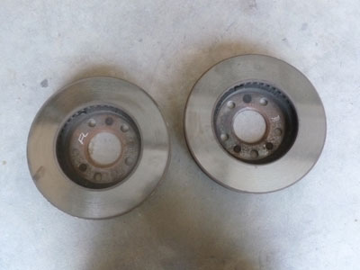 1995 Chevy Camaro - Front Disc Brakes Rotors Vented (Pair)5