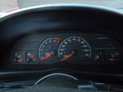 1995 Chevy Camaro - Instrument Cluster Gauges Speedometer3