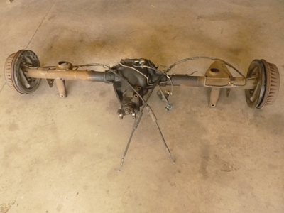 1995 Chevy Camaro - Rear End Axle with Drum Brakes ...