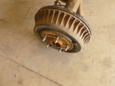 1995 Chevy Camaro - Rear End Axle with Drum Brakes3