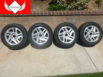1995 Chevy Camaro - Rims and Tires (Set of 4)
