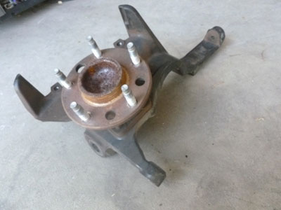 1995 Chevy Camaro - Spindle Knuckle and Hub, Front Right2
